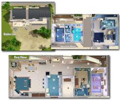 The Sims 3 House Floor Plans Mod The Sims U0027the Boardwalk U0027 Contemporary Beach House