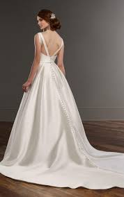 wedding dresses with pockets a line wedding dress with pockets martina liana bridal gowns