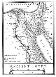 egypt map coloring page nile river