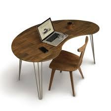 Shaped Desk Essentials Kidney Shaped Desk Dau Furniture