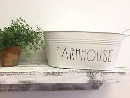 Tin Home Decor | amazon com rustic farmhouse metal tin mail holder kitchen home