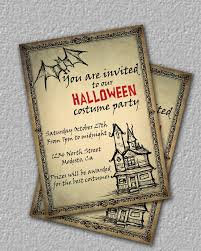 47 best halloween invitation ideas images on pinterest