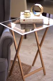 Coffee Table Decor Tray by Best 20 Lucite Tray Ideas On Pinterest Modern Tv Trays Bar
