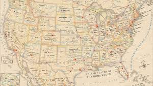 Turbulence Map Usa by Infographic The Literal Meaning Of Every State Name In The U S