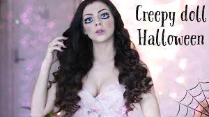 creepy doll makeup tutorial for halloween www stina blogg no