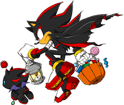 halloween title transparent background image sonic channel shadow the hedgehog u0026 dark chao 2013 png