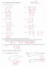 multi step equations worksheet luxury multi step equations with variables both sides worksheets best