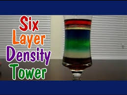 density tower easy kids science experiments youtube