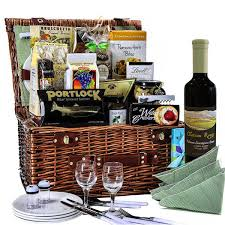 wine picnic basket the picnic taj mahal with wine gourmet gift baskets for all