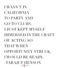 How To Write An Acting Resume With No Experience Taraji P Henson U0027s Career Journey Is All The Inspiration You Need