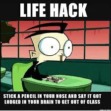 Zim Meme - invader zim life hack meme on imgur