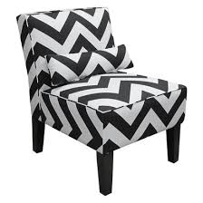 Chevron Armchair Z Gallerie Bailey Chevron Accent Chair Copycatchic
