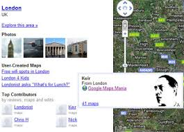 Maidenhead Locator Google Maps by Maps Mania December 2008