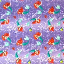 sheetworld round crib sheets little mermaid contemporary baby
