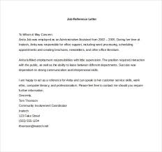 best solutions of free professional reference letter samples also