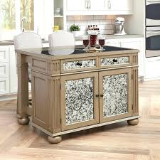 kitchen island cart with seating kitchen island cherry kitchen island cart visions silver and gold