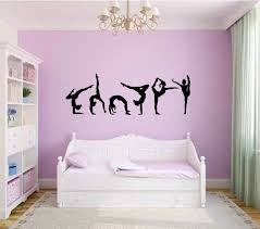 Stickers For Walls In Bedrooms by 25 Best Gymnastics Room Ideas On Pinterest Gymnastics Bedroom