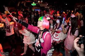 heavy pop halloween party in tokyo fashion fun pictures