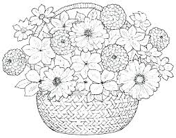 coloring pictures of flowers to print flower coloring pages printable www glocopro com