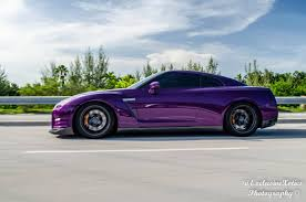 chrome nissan chrome midnight purple and carbon nissan gt r