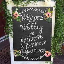 wedding chalkboard shop wedding chalkboard welcome on wanelo