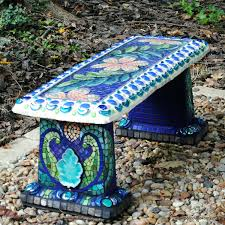 how to paint patio furniture with chalk paintar mosaic garden