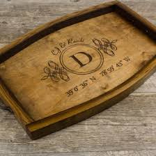 personalized serving dish wood serving tray custom wood tray personalized serving