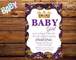 purple baby shower ideas purple and gold baby shower invitations dhavalthakur