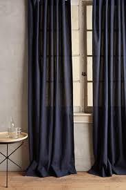 Striped Linen Curtains Striped Linen Curtain Anthropologie Com 42pleasant Pinterest