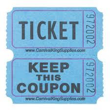 raffle tickets carnival king blue 2 part raffle tickets 2000 roll