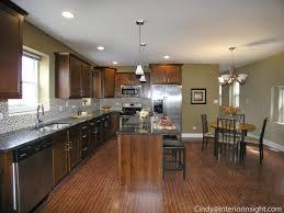 chicago bungalow with new interior open floorplan that combines