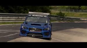 Subaru Wrx Sti Type Ra Nbr Special Record Nurburgring Lap Youtube