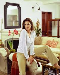 cindy crawford s understated art filled office architectural digest
