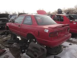 nissan cars sentra junkyard find 1991 nissan sentra se r maybe the truth about cars