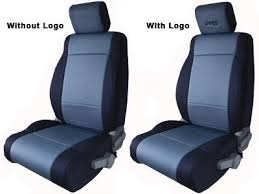charcoal black jeep wrangler black charcoal front seat cover with jeep logo jeep world