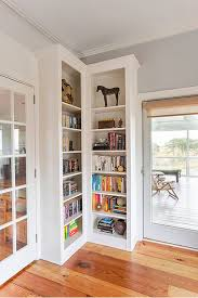 Corner Bookcase Ideas Ways In Which A Corner Bookshelf Can Fill In The Blanks In Your Design