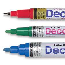decocolor paint markers blick art materials