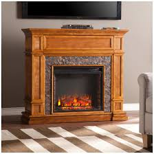 southern enterprises belleview faux stone media center electric