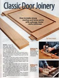 General Woodworking Magazine Reviews by 1601 Classic Door Joinery Cabinet Door Construction Techniques