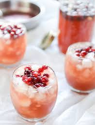 cranberry cider punch cranberry punch drink and holidays