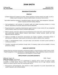 accounting resume template controller resumes duties assistant controller resume exle senior