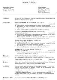 Resume For General Jobs by Internship Resume Templates Internship Placement Resume Format