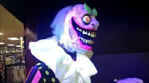 spirit halloween 2013 wacky mole clown animated prop youtube