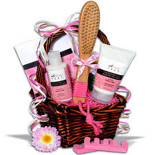 mothers day gift basket ideas classic spa gift basket pedicures basket ideas and essentials
