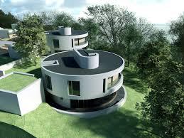 Awesome House Architecture Ideas Shaped House In Futuristic Design Idea Awesome Futuristic