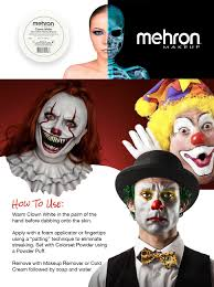 Halloween Usa Costumes Locations Amazon Com Mehron Makeup Clown White Face Paint 2 25 Oz