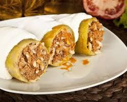 cuisine libanaise facile recette koussa mehchi courgettes farcies à la viande libanaises