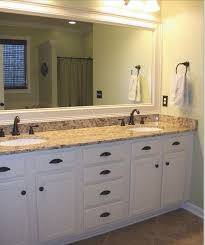 White Cabinet Bathroom Ideas Great Bathroom White Cabinets Framed Mirror Master Bedroom In