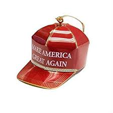 page for maga ornament trolled with comments