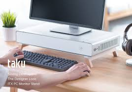 Stand Up Desk Kickstarter Cryorig Releases The Taku Monitor Stand Pc Case On Kickstarter